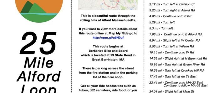Bachman's Berkshires – Awesome Berkshires Biking – The Alford Loop